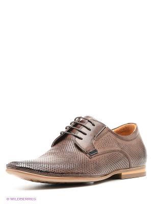 Туфли Renaissance. Цвет: коричневый