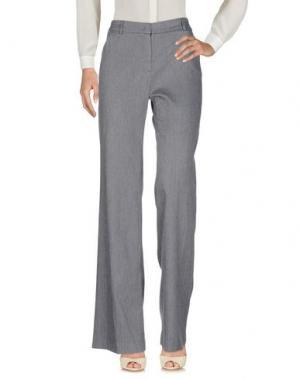 Повседневные брюки GOTHA. Цвет: серый