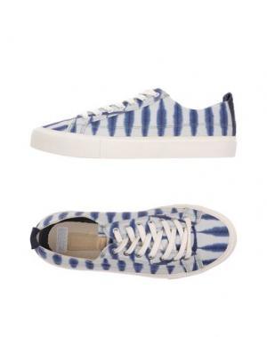 Низкие кеды и кроссовки POINTER. Цвет: синий