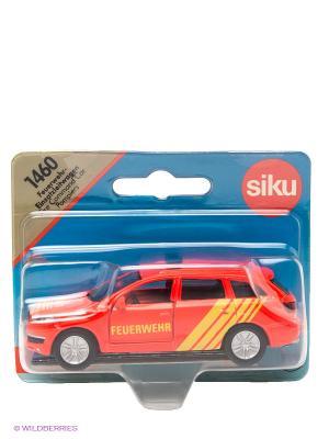 Пожарная машина легковая SIKU. Цвет: красный