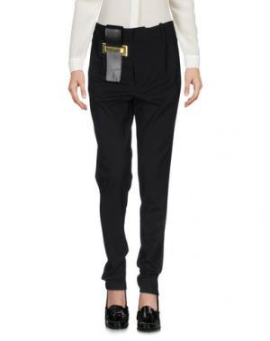 Повседневные брюки ANTHONY VACCARELLO NOIR. Цвет: черный