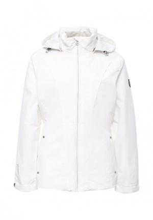 Куртка утепленная Rukka. Цвет: белый