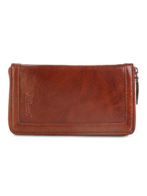 Портмоне Travel wallet Ashwood Leather. Цвет: светло-коричневый