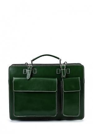 Портфель Roberta Rossi. Цвет: зеленый