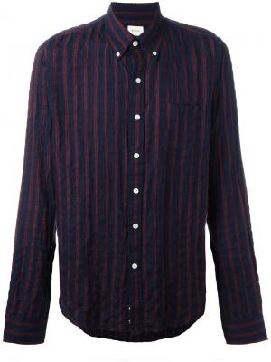 Рубашка в полоску Bellerose. Цвет: синий