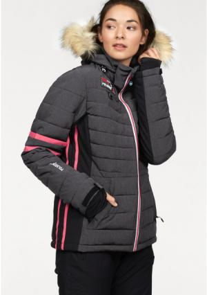 Горнолыжная куртка POLARINO. Цвет: серый