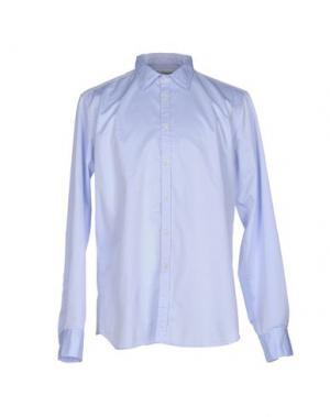 Pубашка BEVILACQUA. Цвет: небесно-голубой