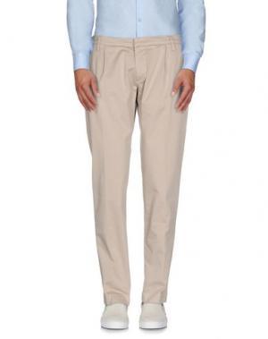 Повседневные брюки ENTRE AMIS. Цвет: песочный