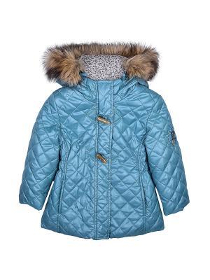 Куртка WOW. Цвет: бирюзовый