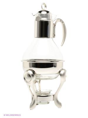Чайник с подогревом Marquis. Цвет: прозрачный, серебристый
