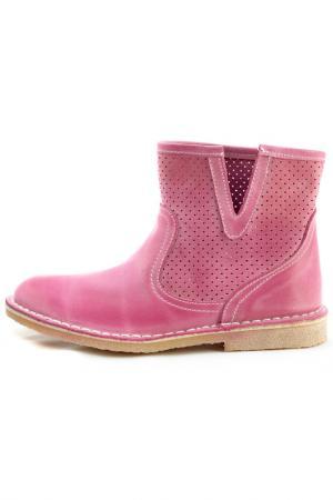 Полусапоги WOZ. Цвет: розовый