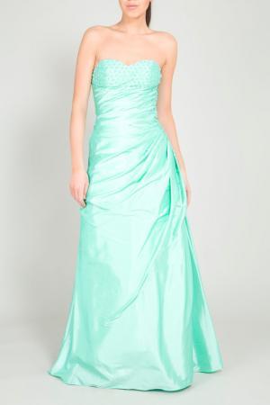 Платье YASMIN. Цвет: зеленый