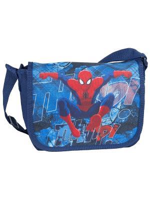 Сумка Spider-Man. Цвет: синий, красный