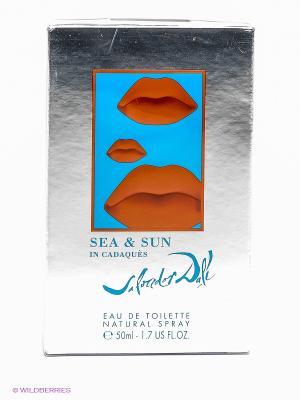Туалетная вода Sea&sun In Cadaques, 50 мл SALVADOR DALI. Цвет: прозрачный