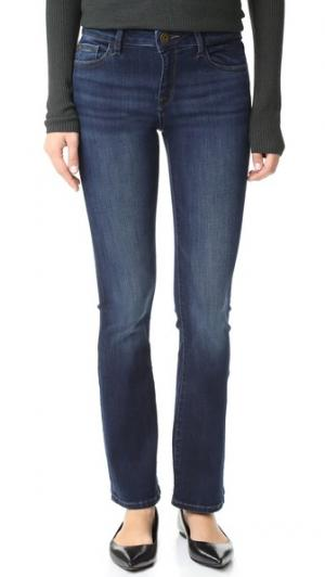 Буткат-джинсы Bridget Instasculpt Petite DL1961. Цвет: peak
