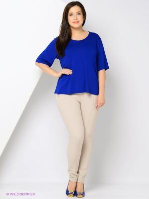 Блузка SPARADA. Цвет: синий, молочный