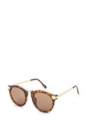 Очки солнцезащитные Sinequanone. Цвет: коричневый