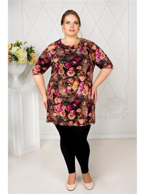 Туника Darissa Fashion. Цвет: черный, горчичный, малиновый