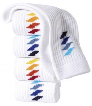 Комплект Носков Спорт — 5 пар AFM. Цвет: разноцветньіи