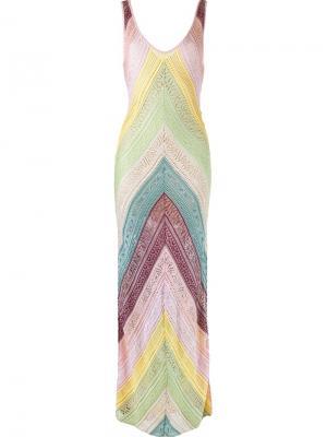 Long knit dress Cecilia Prado. Цвет: многоцветный