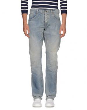 Джинсовые брюки PRPS NOIR. Цвет: синий
