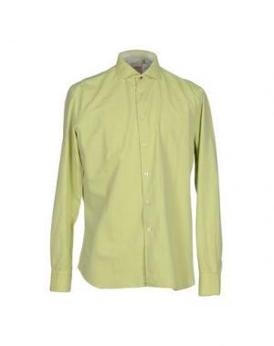 Pубашка DOMENICO TAGLIENTE. Цвет: светло-зеленый