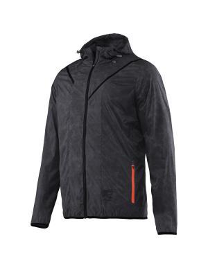 Куртка-дождевик HEAD. Цвет: серый