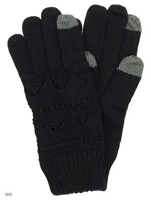Перчатки ROXY. Цвет: черный