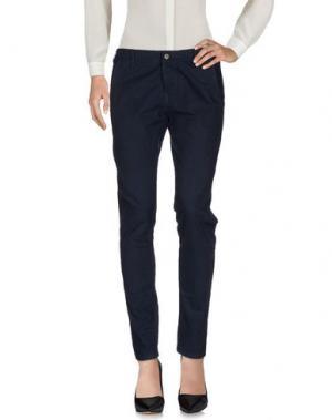 Повседневные брюки PEACOCK BLUE. Цвет: темно-синий