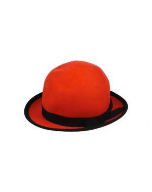 Головной убор MIMISOL. Цвет: красный