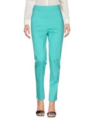 Повседневные брюки SAVE THE QUEEN. Цвет: светло-зеленый