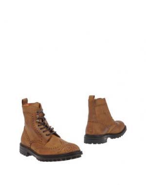 Полусапоги и высокие ботинки ANDREA VENTURA FIRENZE. Цвет: коричневый