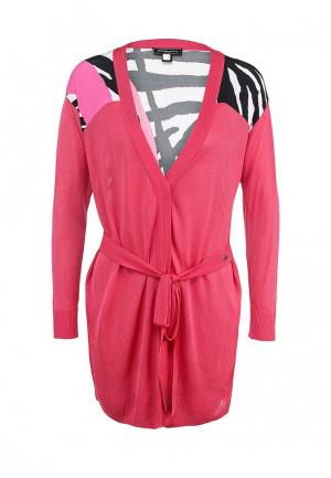 Кардиган Roccobarocco Knitwear. Цвет: розовый