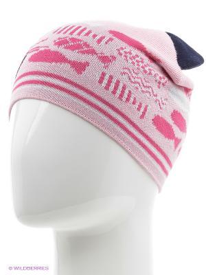 Шапка Marhatter. Цвет: белый, бледно-розовый, розовый, черный
