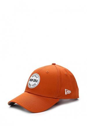 Бейсболка New Era. Цвет: оранжевый