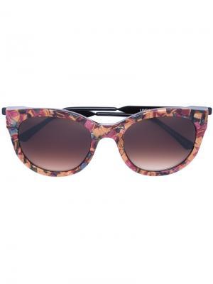 Солнцезащитные очки Lively Thierry Lasry. Цвет: многоцветный