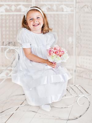 Платье Ангел мой. Цвет: белый