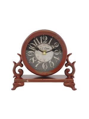 Часы  будильник 14,5* 6см. PATRICIA. Цвет: красный