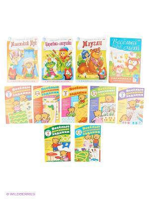 Комплект развивающие книжки №3 (11 видов) Издательство Хатбер-пресс. Цвет: белый