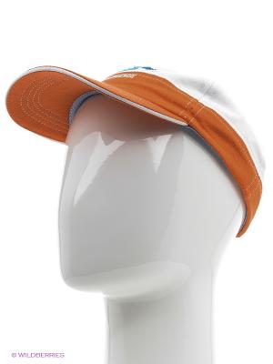 Кепка Oodji. Цвет: оранжевый