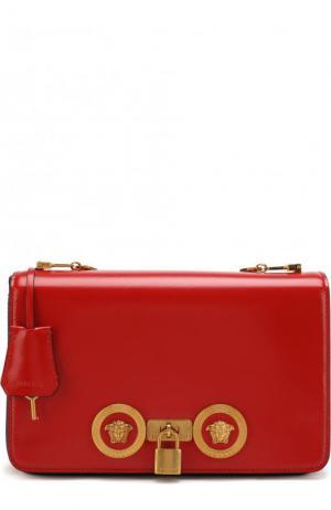 Сумка Tribute на цепочке Versace. Цвет: красный
