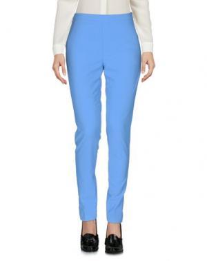 Повседневные брюки MASSIMO REBECCHI. Цвет: лазурный