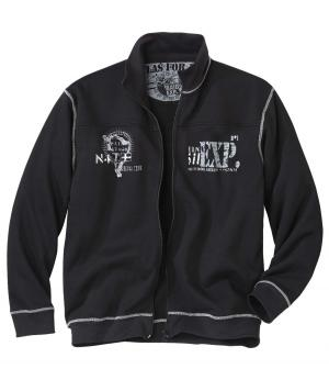 Куртка из Мольтона AFM. Цвет: черныи