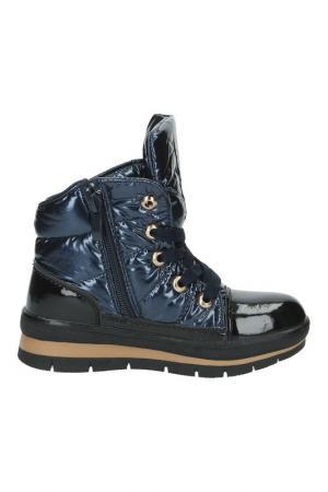 Ботинки Patrol. Цвет: синий, черный