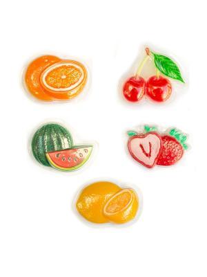 Набор глицеринового мыла фруктовая корзинка NATURE Intent. Цвет: красный, желтый, оранжевый