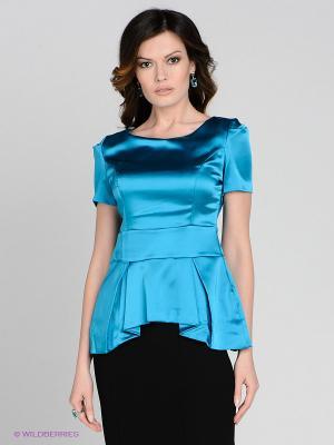 Блузка MELANY. Цвет: голубой