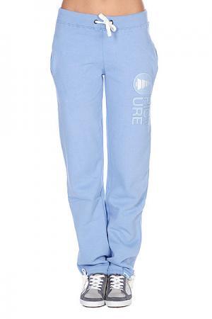 Штаны широкие женские  Cocoon Wom Pans Light Blue Picture Organic. Цвет: голубой