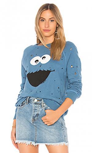 Пуловер darby Lauren Moshi. Цвет: синий