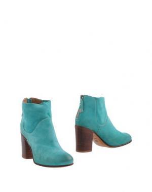 Полусапоги и высокие ботинки MOMA. Цвет: бирюзовый