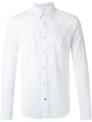 Классическая рубашка Osklen. Цвет: белый